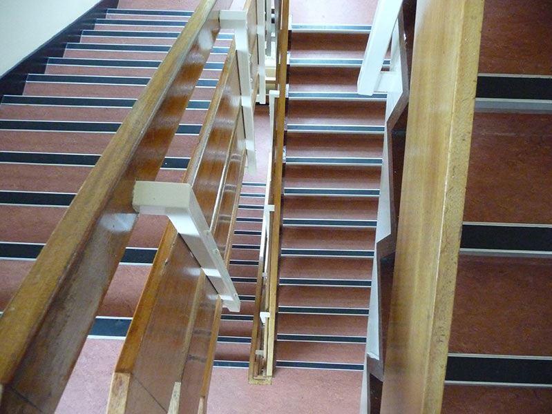 Stott Flooring Hospital Staircase