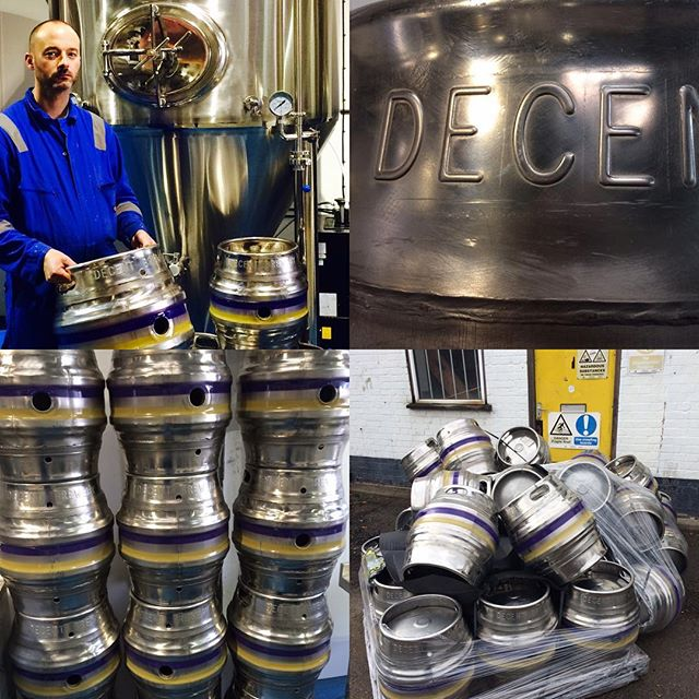 Latest update...our casks have arrived in all their shining stainless steel glory