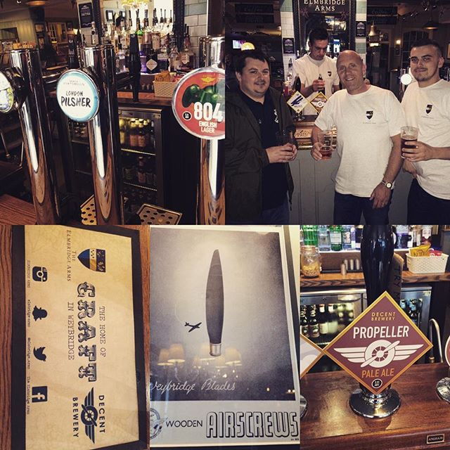 Update continues: open day last weekend plus Elmbridge Arms in Weybridge is now our official brewery tap
