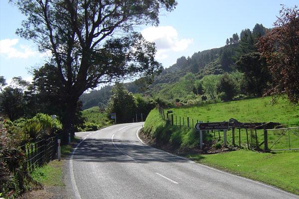 Road in Motueka