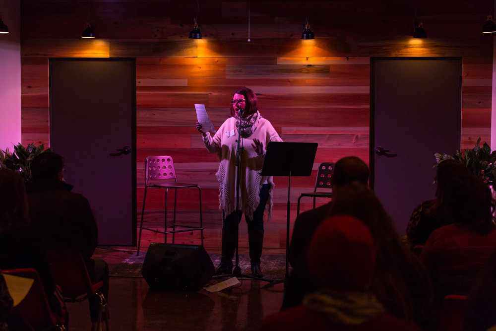 A public reading was just part of February's Winter Writing Weekend at The Oxbow Hotel.
