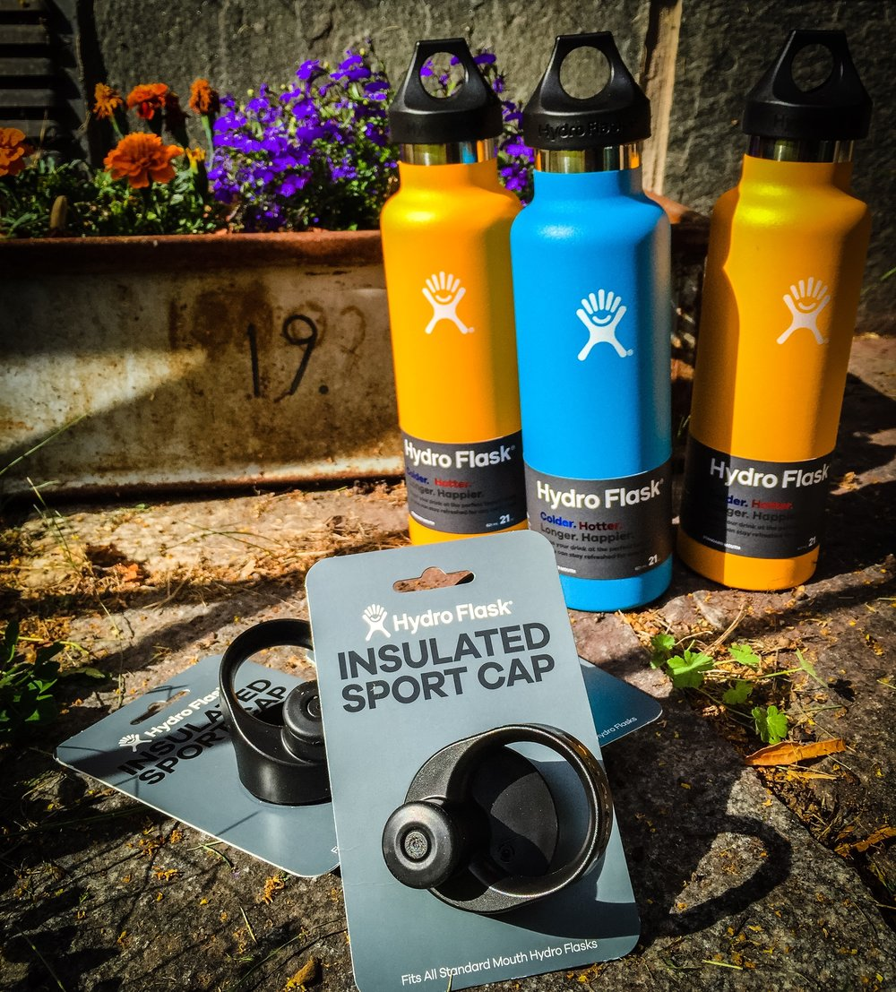 Hydro Flask with Insulated Sport Cap