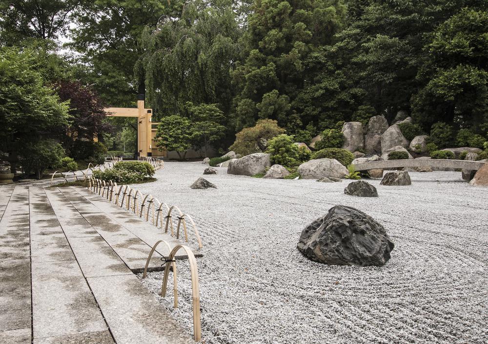 Zen Garden, MFA, Boston, MA