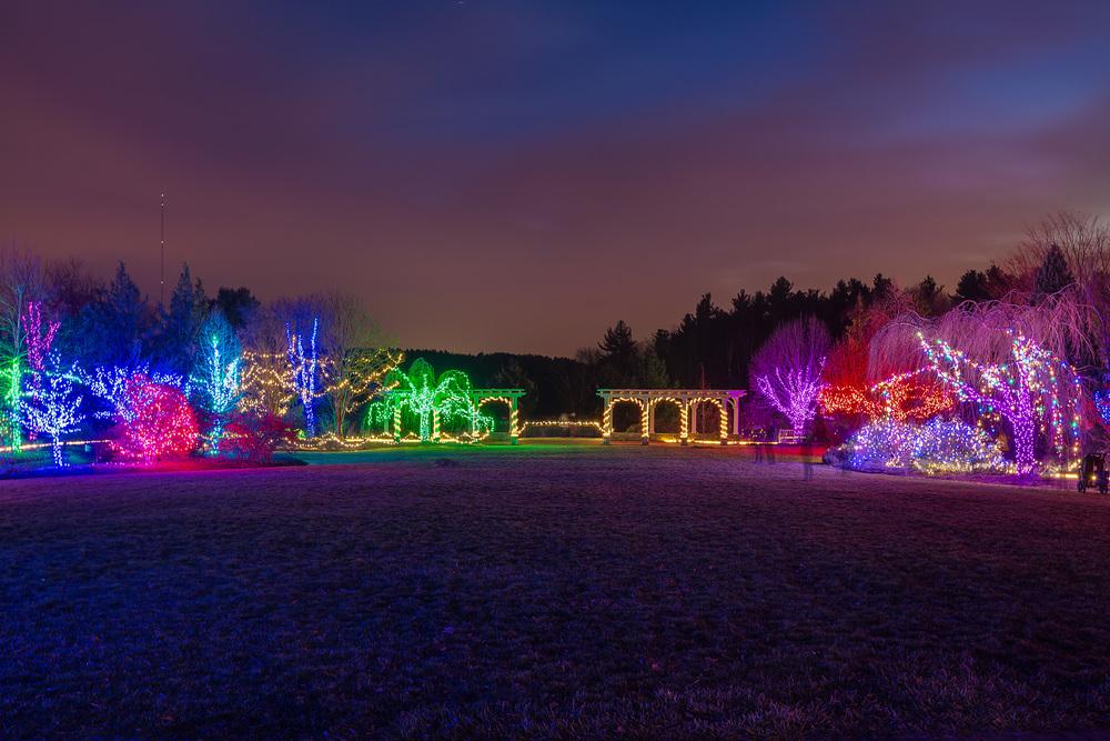 Tower Hill Botanic Garden Winter Reimagined 2015