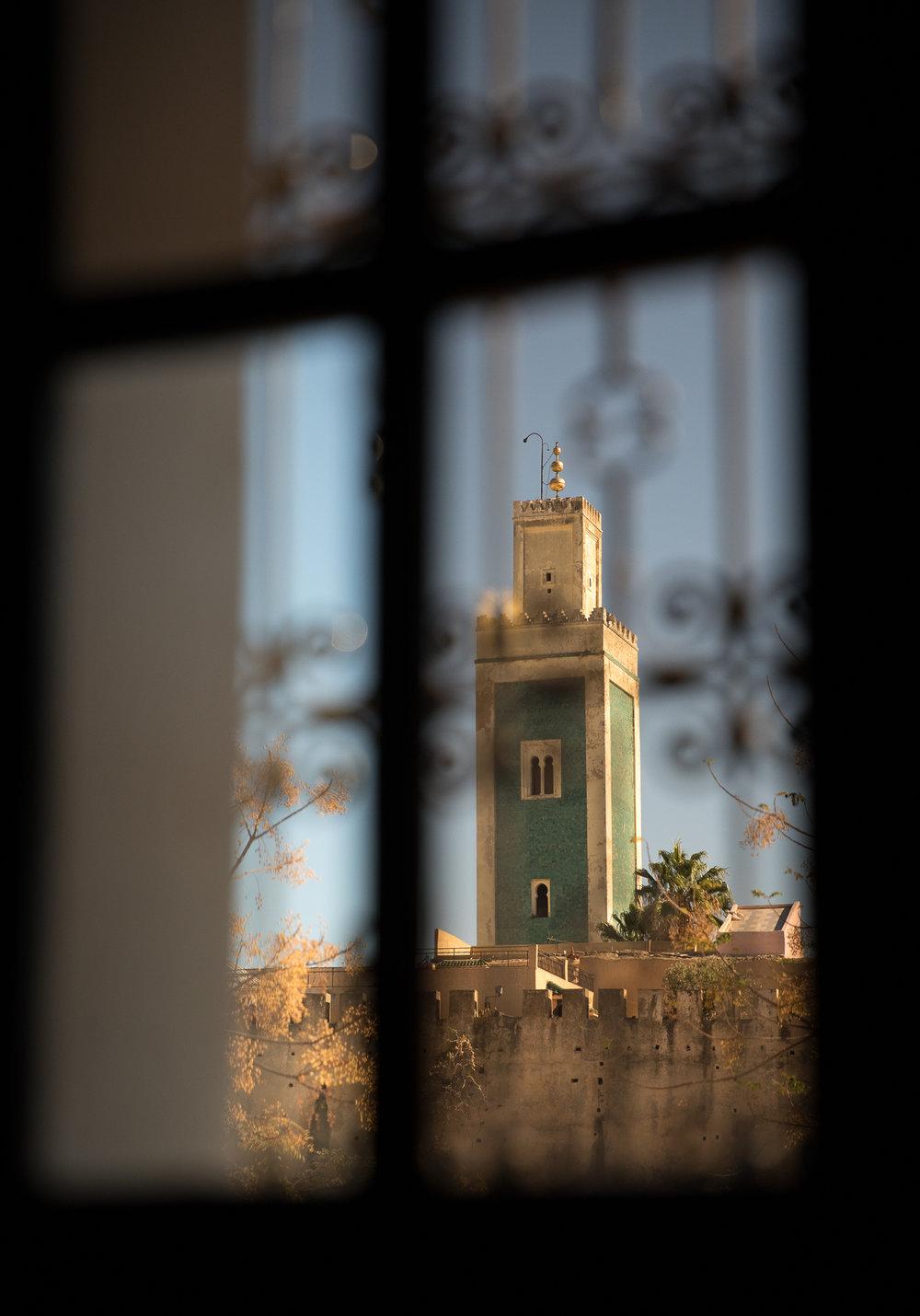 Minarette, Meknes, Morocco