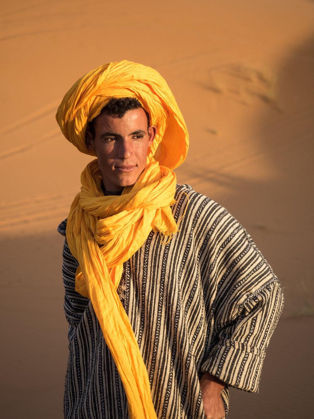 Nomadic Berber, Sahara Desert, Morocco
