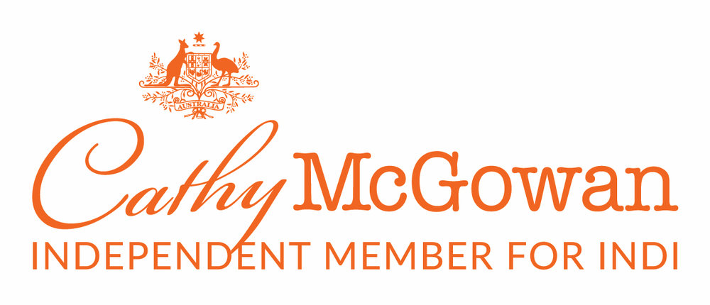 Cathy McGowan Signature Logo Full