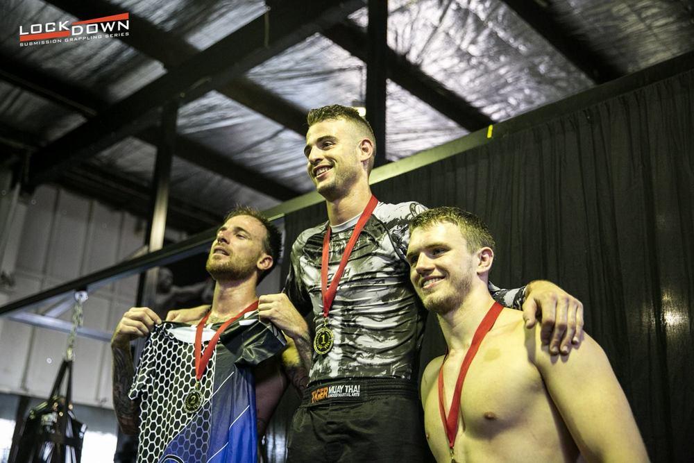 Josh Allen Gold Under 77kg Novice Division