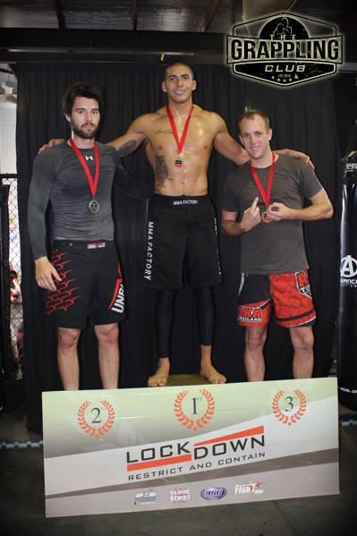Michael Sharp Bronze under 84kg Novice Divison