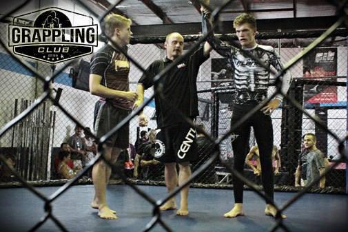 David Bishop gets his first ever submission win in No Gi Jiu Jitsu