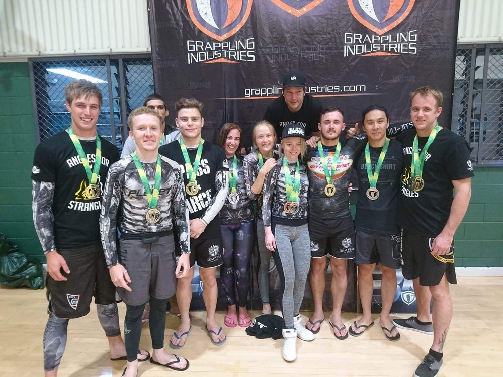 The team taking first place in the overall team No Gi.