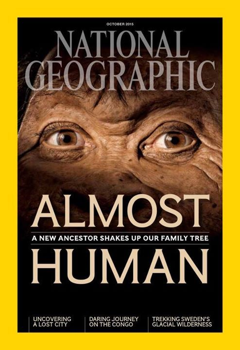 When Lee Berger's team discovered over 1,500 bones  in a cave in South Africa and named a new species for them ( Homo naledi ), National Geographic gave me the job of figuring out what it looked like. Is there any better job than this?