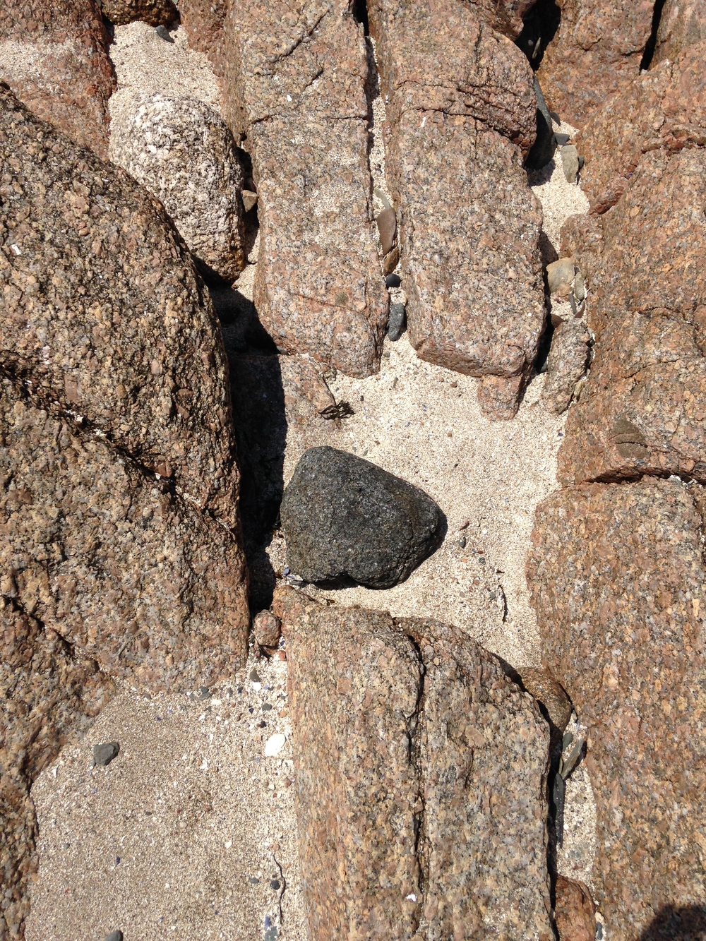 Rocks at Haystack.