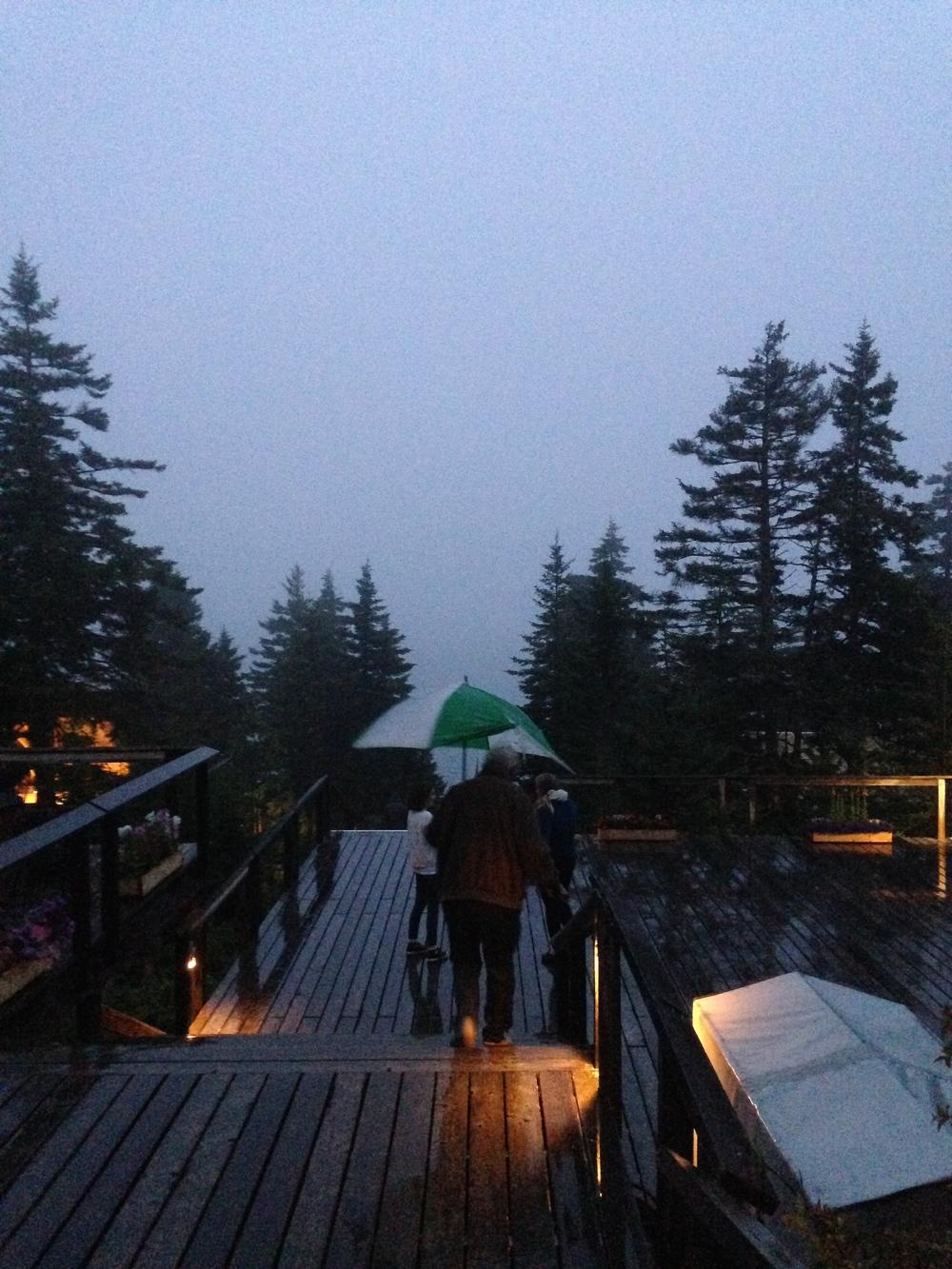Rainy Haystack day