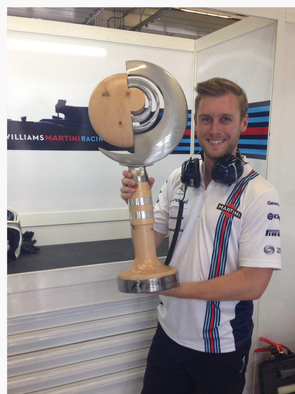 The Woodstock Chiropractor at the Austrian Grand Prix after Valtteri Bottas won a place on the podium