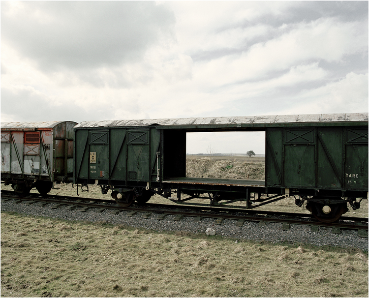 Train Carriage by Spencer Murphy