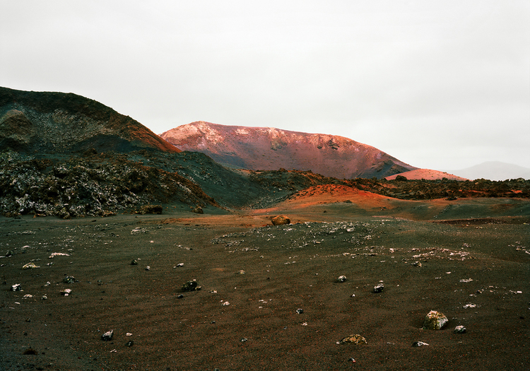 Montana del Chinero, TImanfaya by Angus Fraser