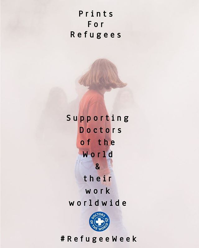 This week is Refugee Week and Prints for Refugees are having a sale! These 7 days surrounding World Refugee Day (on Wednesday) are focused on celebrating the contributions of Refugees and spreading understanding of why people seek sanctuary. For us it is also a reminder that there are still thousands of people who rely on Doctors of the World to provide healthcare. In all this your support has been fantastic and we hope you'll come have a look at what's on offer for this week! VISIT: www.printsforrefugees.com - thank you!(Poster shot used here is taken from one of Trent Mcminn's donations). @trent_mcminn @marksherratt @dotw_uk #RefugeeWeek #WorldRefugeeDay #RefugeeFund #artandcharity #photography #doctorsoftheworld