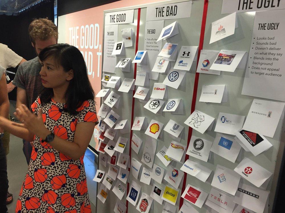 Branding workshop homework activity