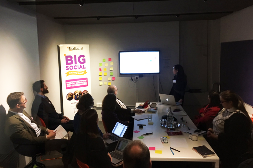 UnLimited Big Social branding Workshop with 6W2X