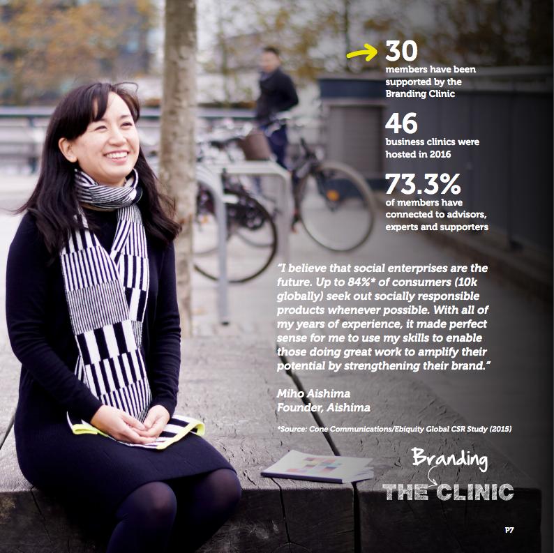 Miho Aishima Impact Hub Branding Clinic
