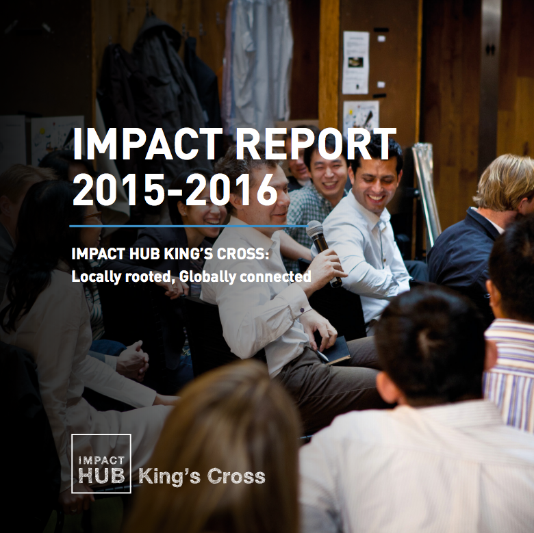 Impact Hub King's Cross report cover