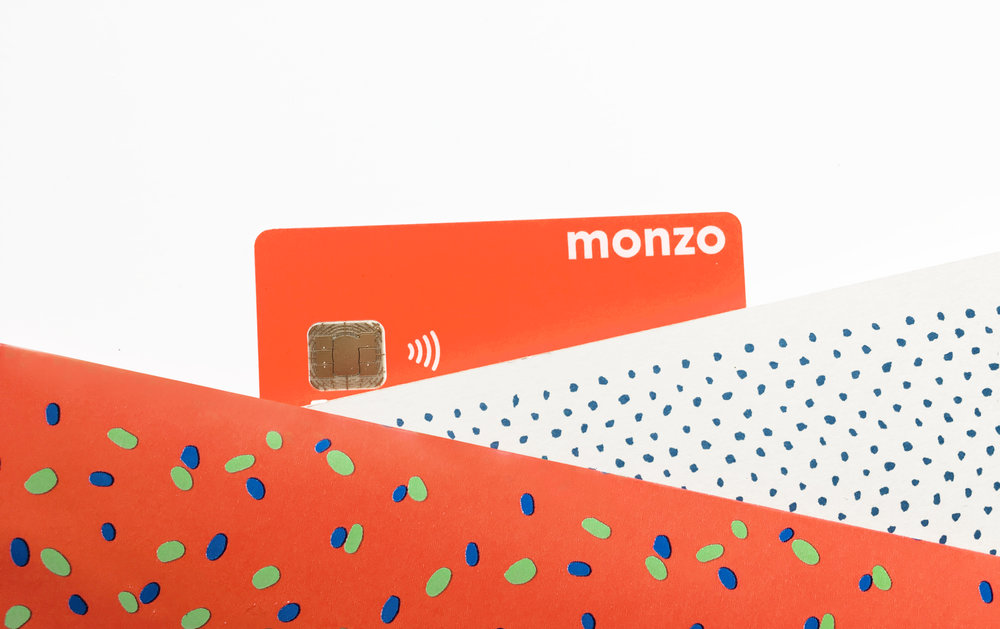 Monzo's highly coveted fluro debit card
