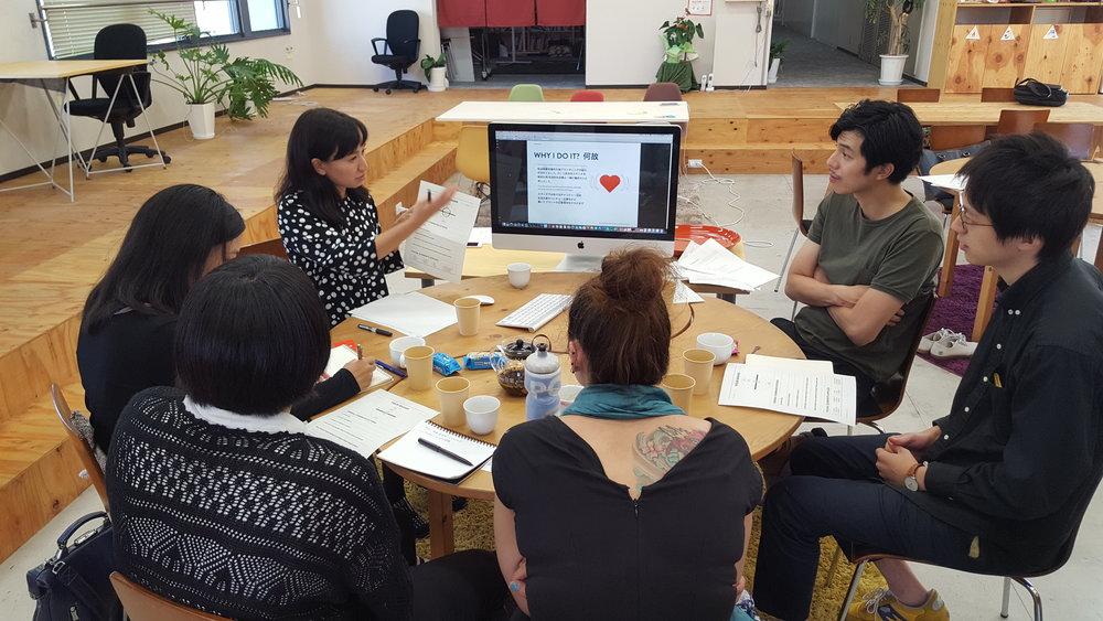 Global branding workshop for social enterprises