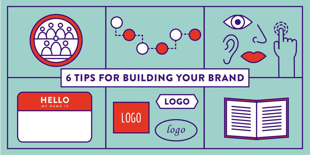 six branding tips