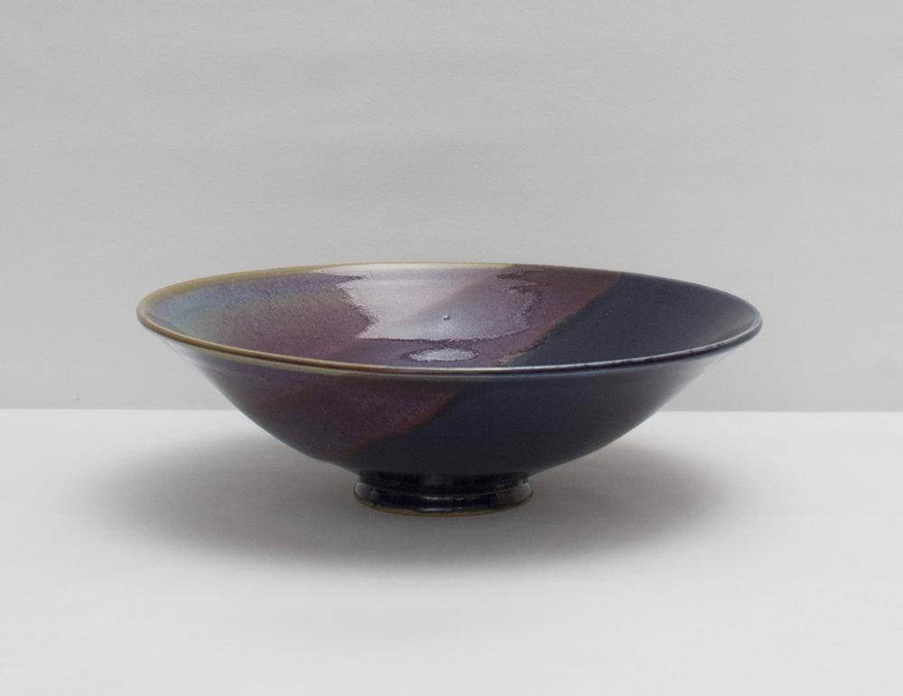 Coupelle en grès, violet