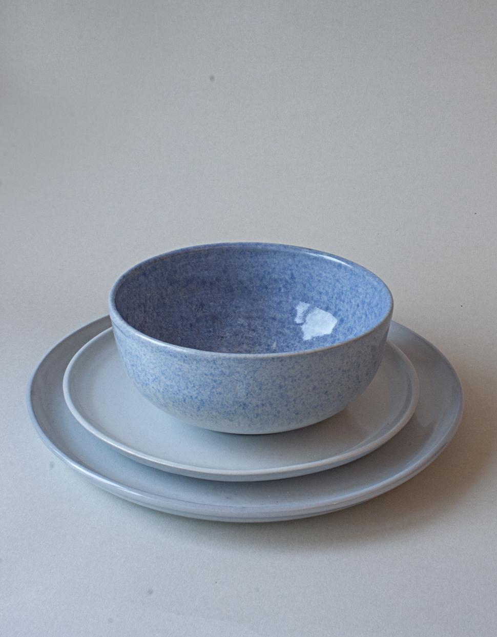 service en grès et porcelaine