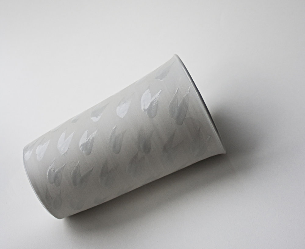 porcelaine, semi émaillé