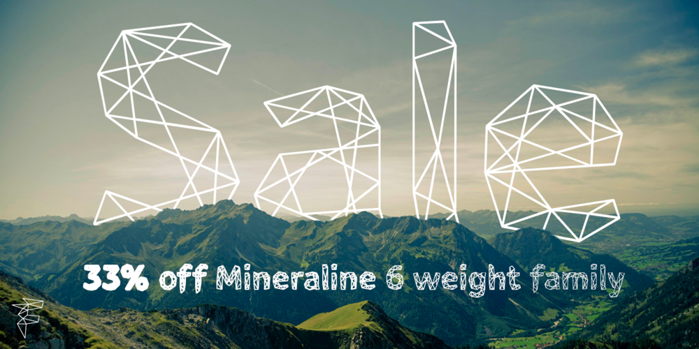 Sale – save 33% off mineraline font family