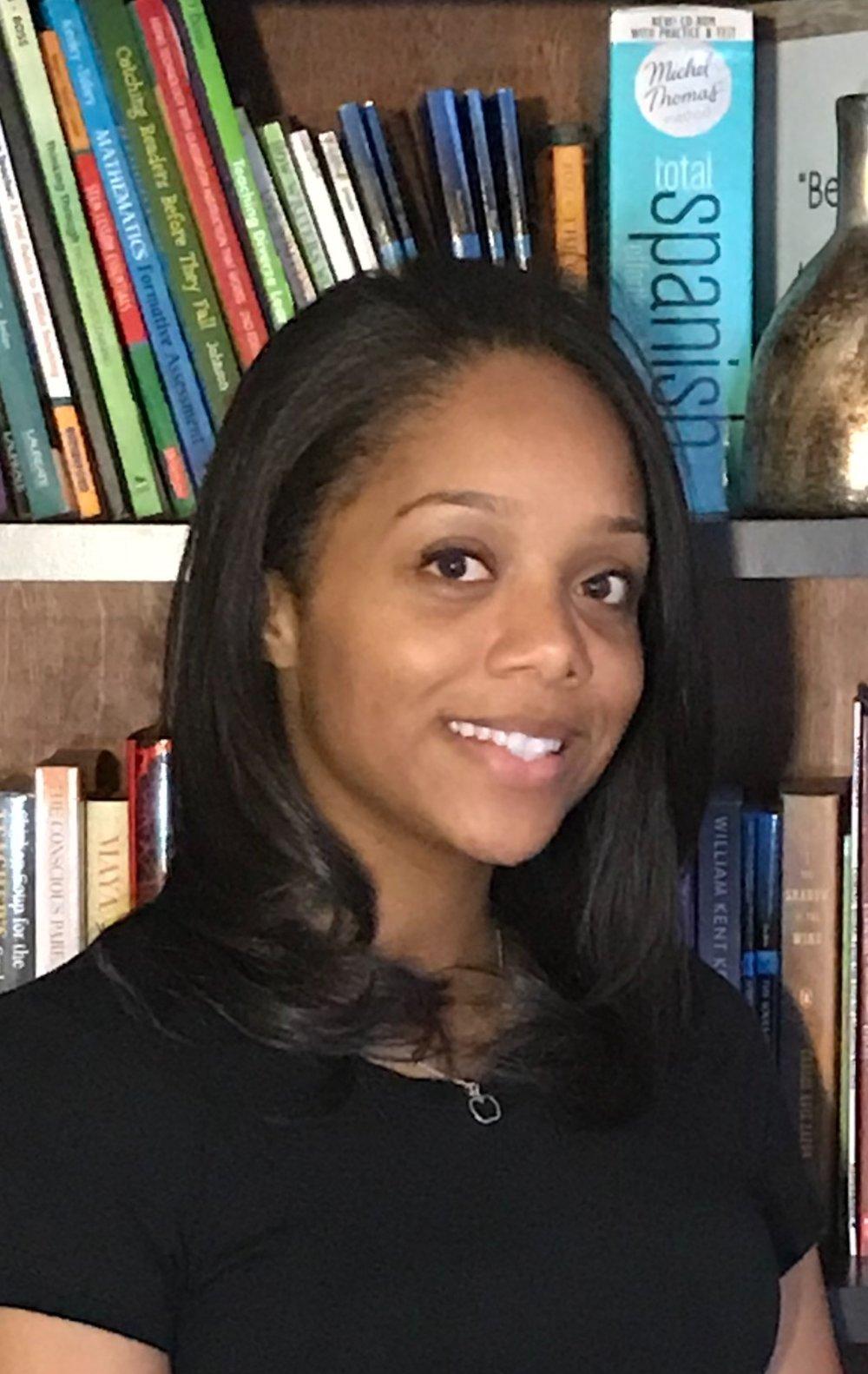 - Nyana Genema, MA. Ed Director of Education