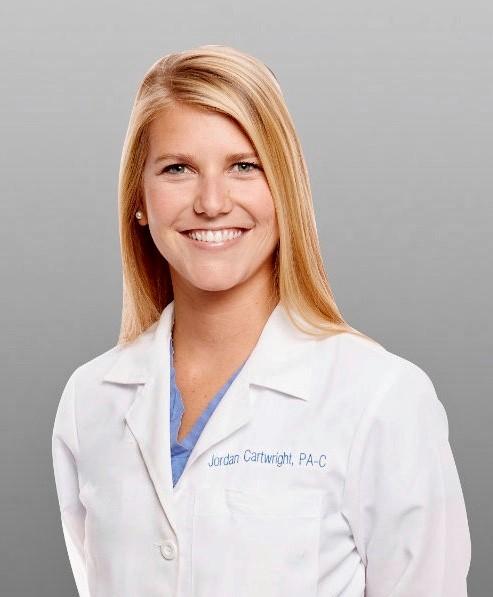 - Jordan Cartwright, PA-C Medical Team Leader