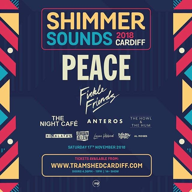 Great to see @almosesband added to this huge lineup at @tramshedcardiff - thanks @shimmersounds!  More Forté act shows to be announced soon...