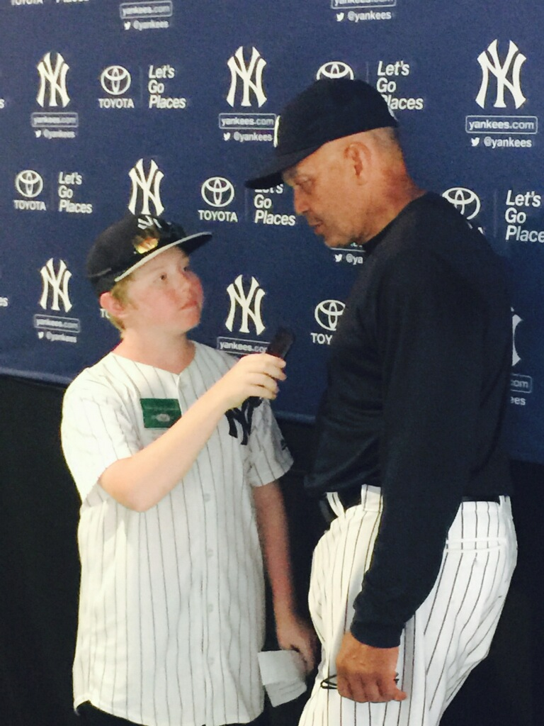 Interviewing MLB Legend and Hall of Famer Reggie Jackson.