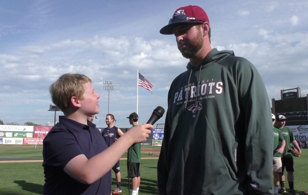 Talking with Somerset Patriots Pitcher Keith Hessler