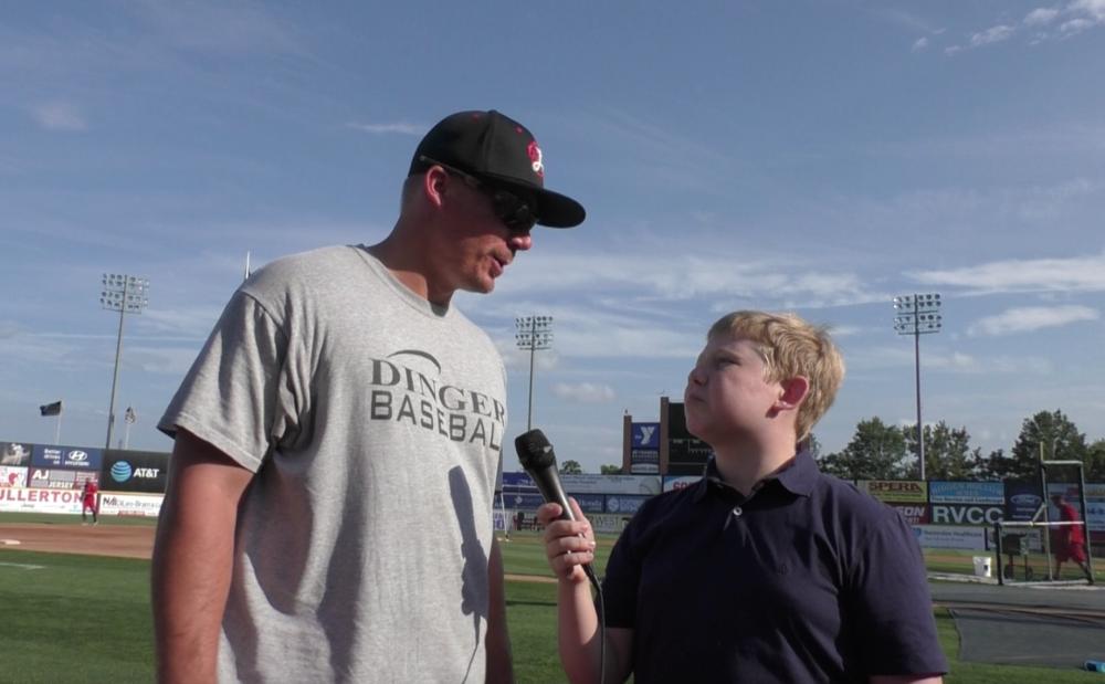 Talking with 4 year MLB vet Steve Clevenger