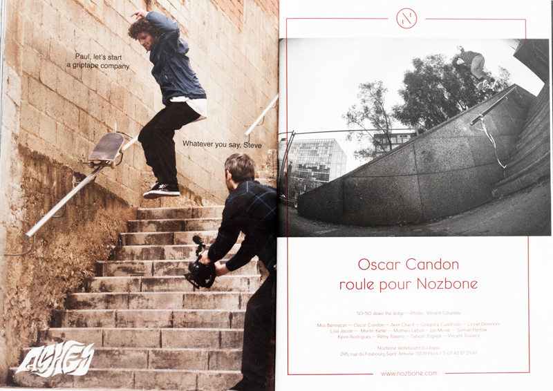Nozbone advertising with Oscar Candon / SOMA