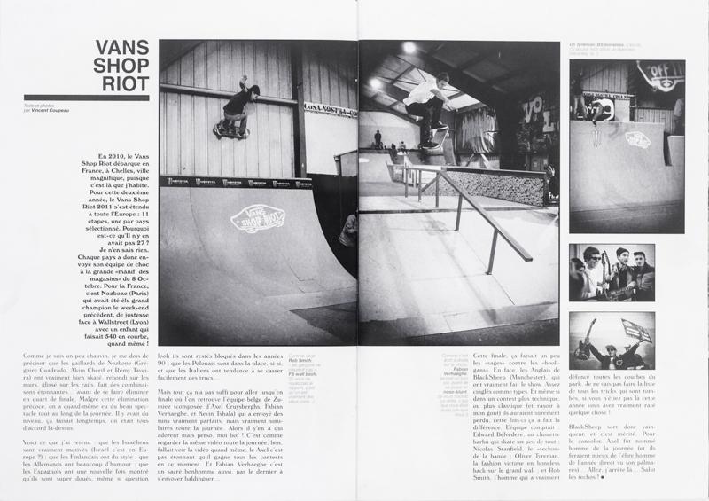 Vans Shop Riot report / SOMA 26