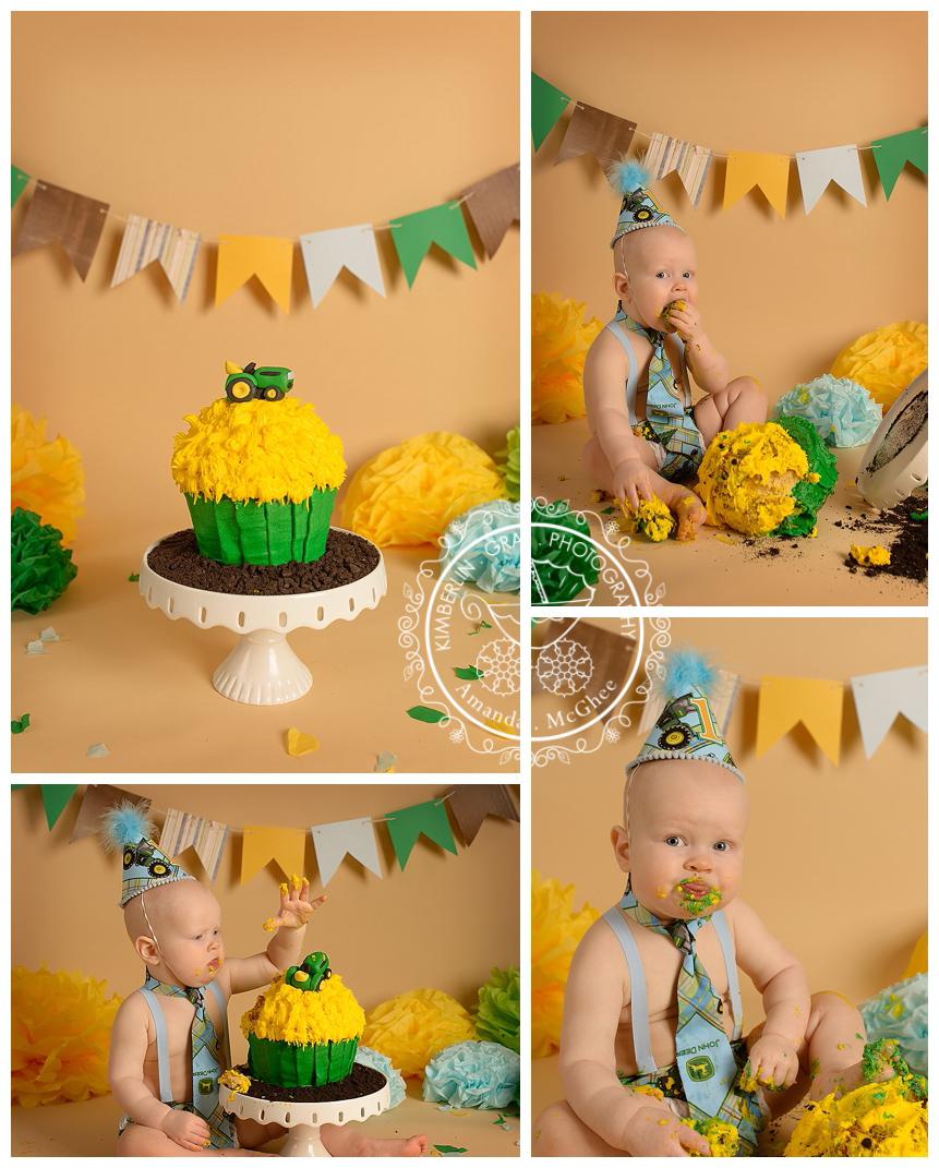 Smashing Boys Virginia Beach Birthday Baby Photography