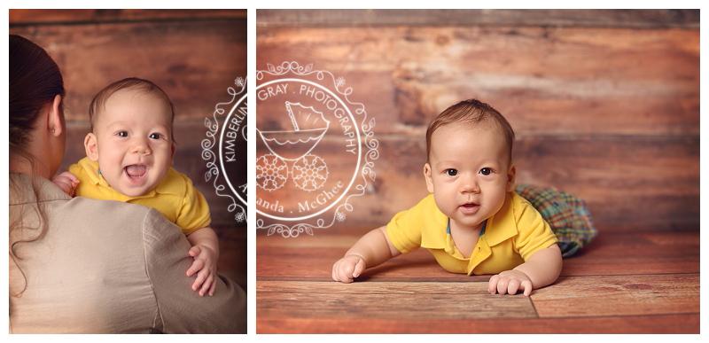 3 month baby boy