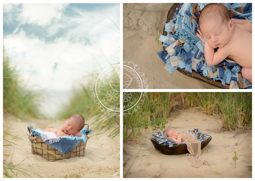 Outdoor newborn session virginia beach virginia newborn photography
