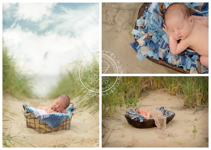 Outdoor newborn session virginia beach virginia newborn photography