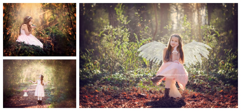 woodland fairy princess session