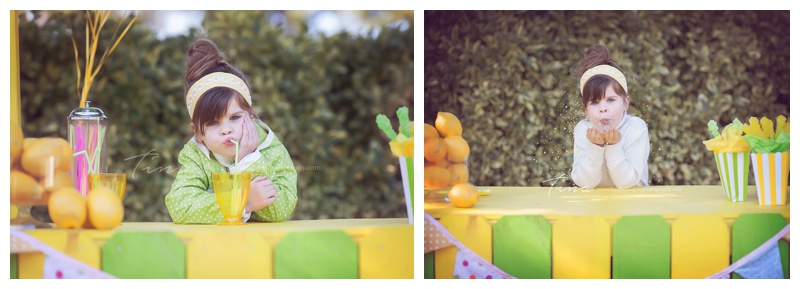 lemonade stand mini session