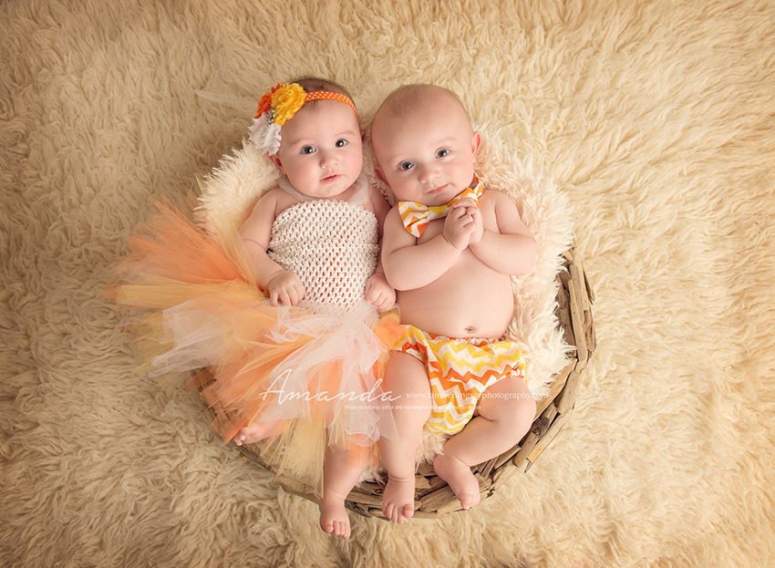 twin baby photography virginia