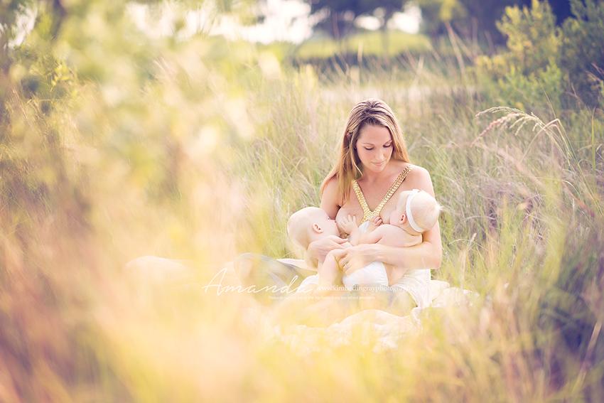 virginia beach outdoor breastfeeding portraits
