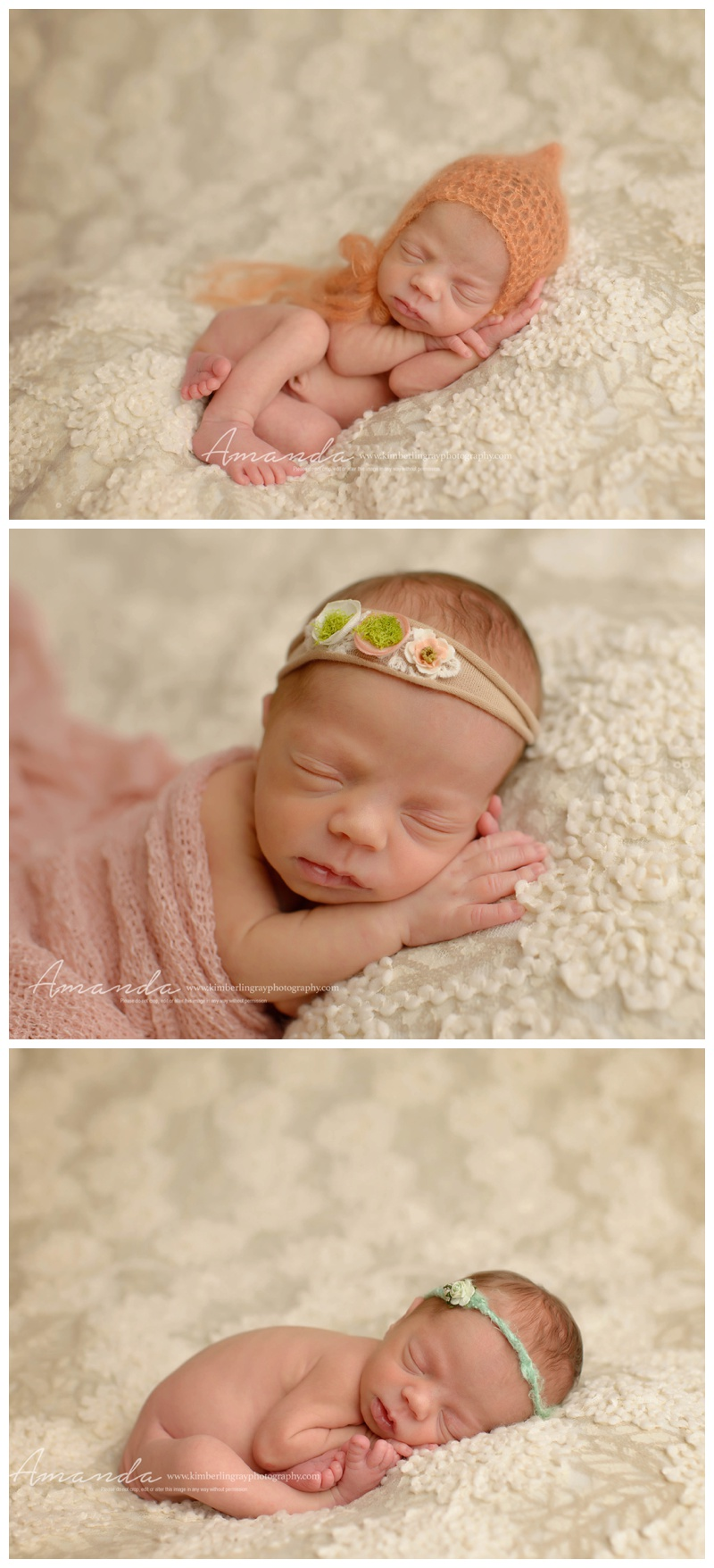 Newborn Smiles perfect pose